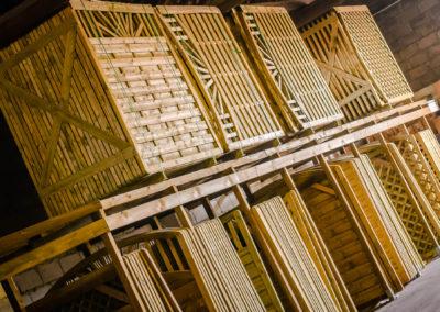 clôture en bois à Epinal