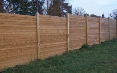 Installer une clôture bois à Nancy