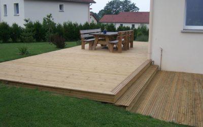 Aménagement de terrasse à Remiremont