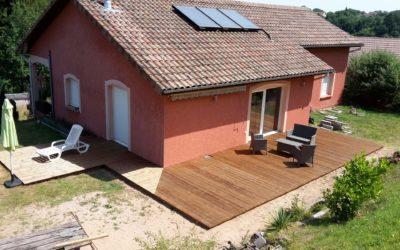 Aménagement de terrasse à Epinal