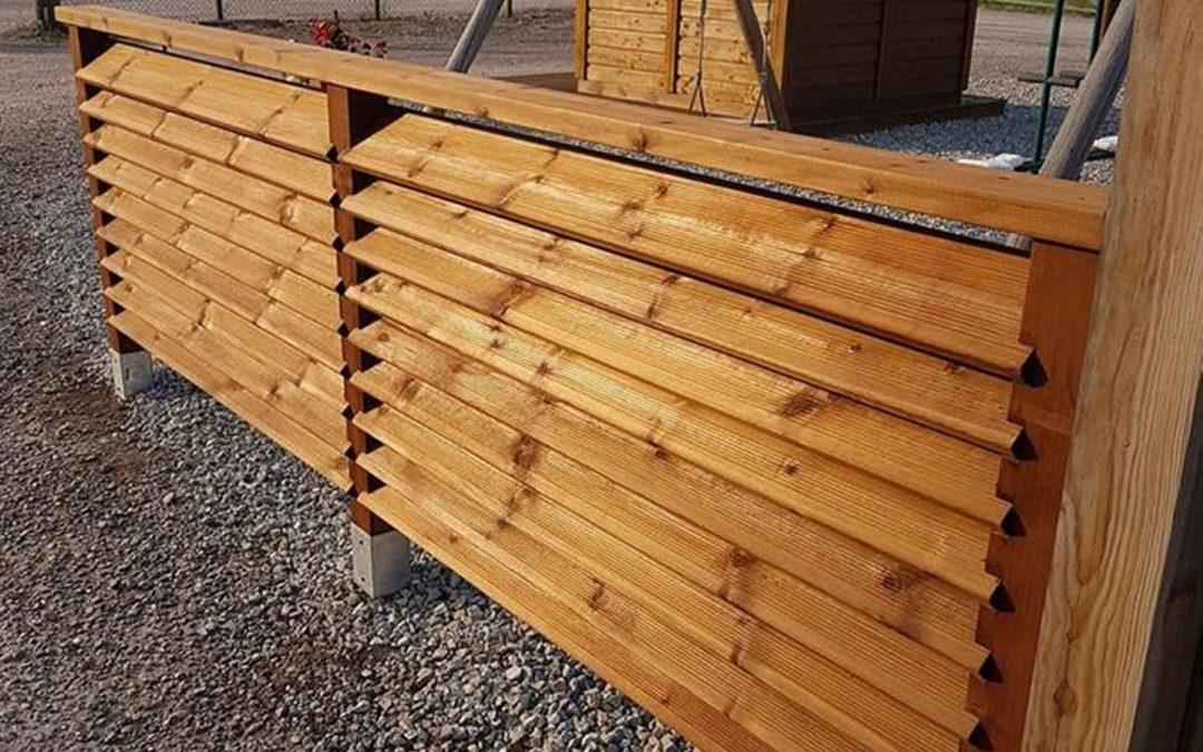 Pose de clôture à Epinal