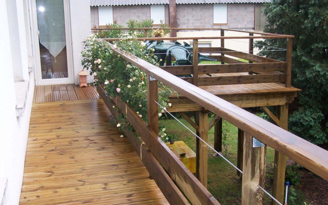 Votre aménagement de terrasse à Nancy